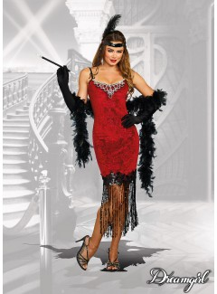 "DG11164 - ""RUBY RED FLAPPER"""