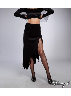 DG11424 - JAGGED-EDGED SKIRT