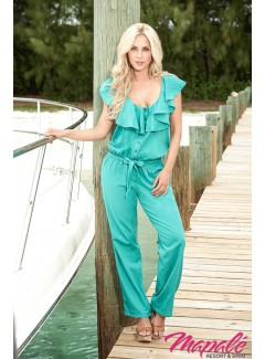 AM1868 - JUMPSUIT (OCEAN TEAL)