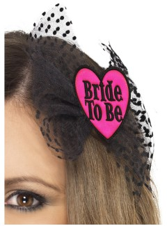 SM26838 - Bride To Be Hair Bow