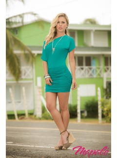 AM4749 - Dress (TURQUOISE)