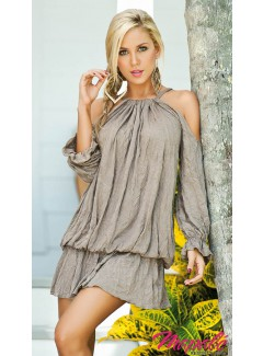 AM4763 - Dress (TAN)