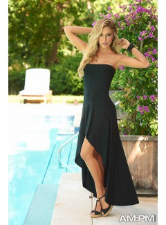 AM5705 - Convertible Dress,Skirt (BLACK)