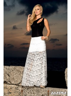 AM5714 - Long Skirt (IVORY)