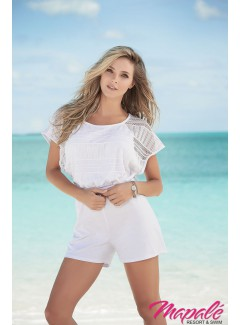 AM5735 - ROMPER (WHITE)