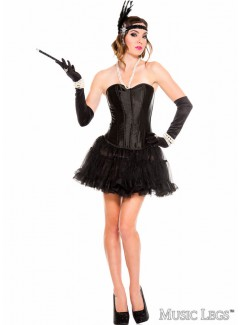 ML70599 - CORSET (BLACK)