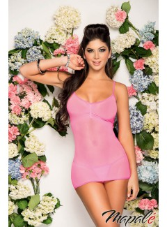 EP7059 -  Babydoll with Matching G - String (PINK)