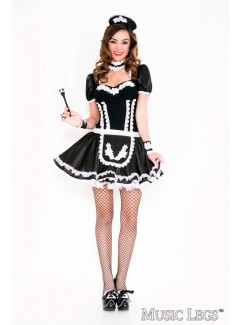 ML70644 - FLOWERY LACY FRENCH MAID