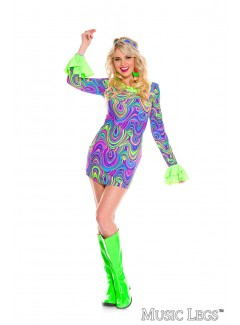 ML70779 - PSYCHEDELIC HIPPIE CHICK