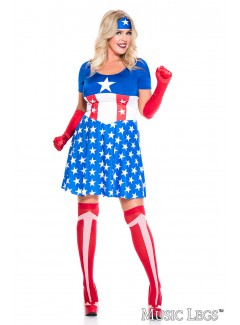 ML70955Q - AMERICAN PLUS SIZE HERO