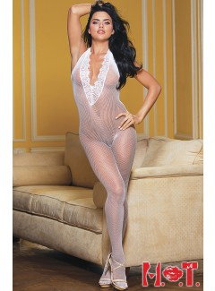 SH90417 - BODY STOCKING (WHITE)