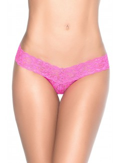 EP94 - Lace Thong (HOT PINK)