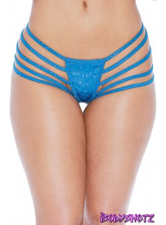 BS118S - THONG (BLUE)