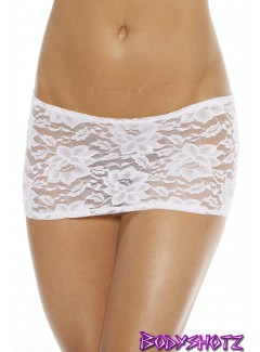 BS404L - SKIRT (WHITE)