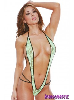 BS611L - Slingshot Teddy (NEON GREEN)