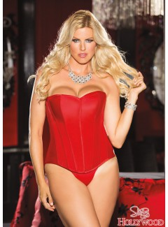 SHX31044 - CORSET (RED)